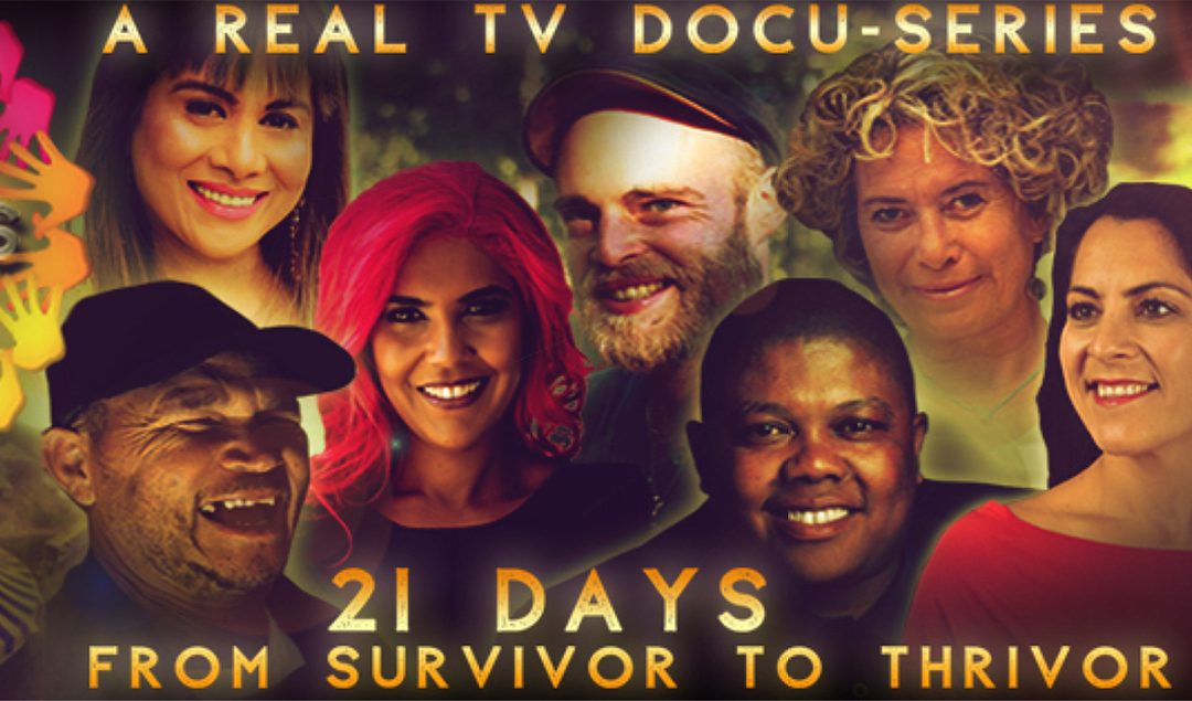 "The BIG REVEAL for the world's first ever season of the brand new Real TV series – ""THRIVORS – 21days from Survivor to Thrivor"""